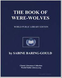 The Book of Were-Wolves: Being an Accoun... by Baring-Gould, Sabine