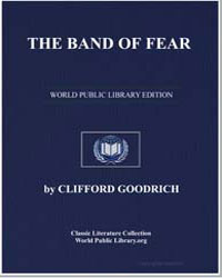 The Band of Fear by Goodrich, Clifford