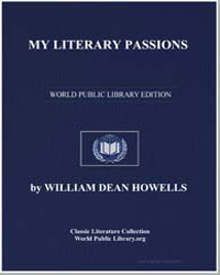 My Literary Passions by Howells, William Dean, Editor