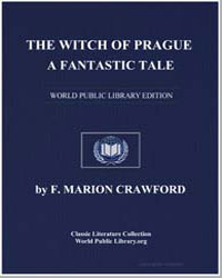 The Witch of Prague : A Fantastic Tale by Crawford, Francis Marion