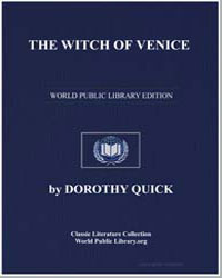 The Witch of Venice by Quick, Dorothy
