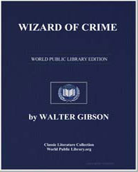 Wizard of Crime by Gibson, Walter