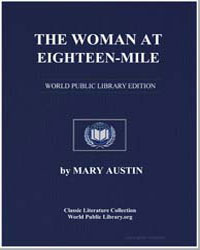 The Woman at Eighteen-Mile by Austin, Mary