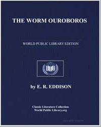 The Worm Ouroboros by Eddison, E. R.