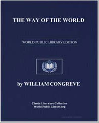The Way of the World by Congreve, William, Sir