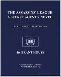 A Secret Agent X : The Assassins' League by House, Brant