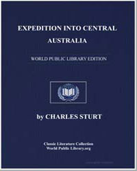 Expedition into Central Australia by Sturt, Charles