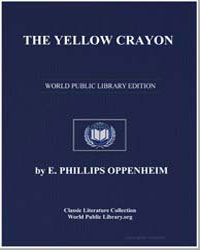 The Yellow Crayon by Oppenheim, Edward Phillips