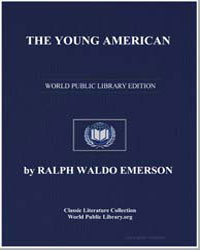 The Young American by Emerson, Ralph Waldo