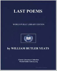 Last Poems by Yeats, William Butler