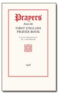 Prayers from the First English Prayer Bo... by Peterson, W. S.