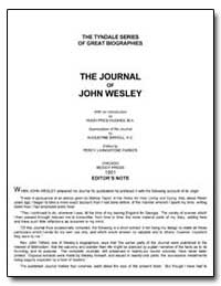 The Journal of John Wesley by Hughes, Hugh Price