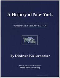 A History of New York by Kickerbocker, Diedrich
