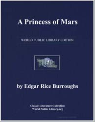 A Princess of Mars by Doyle, Arthur Conan, Sir