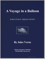 A Voyage in a Balloon by Verne, Jules