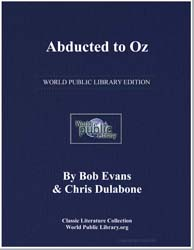 Abducted to Oz by Evans, Bob