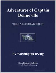 Adventures of Captain Bonneville by Irving, Washington