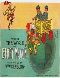 Around the World in a Berry Wagon by Denslow, W. W.