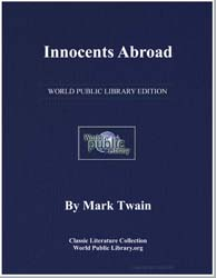 Innocents Abroad by Twain, Mark