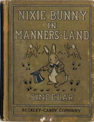 Nixie Bunny in Manners-Land by Sindelar, Joseph Charles