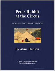 Peter Rabbit at the Circus by Hudson, Alma