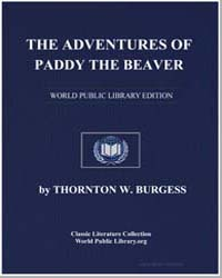 The Adventures of Paddy the Beaver by Burgess, Thornton Waldo