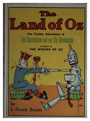 The Land of Oz a Sequel to the Wizard of... by Baum, Lyman Frank