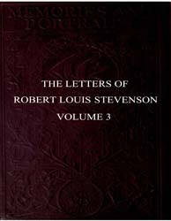 The Letters of Robert Louis Stevenson by Stevenson, Robert Louis