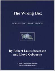 The Wrong Box by Stevenson, Robert Louis