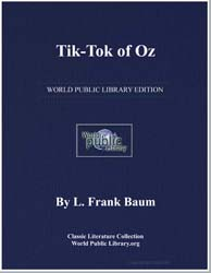 Tik Tok of Oz by Baum, Lyman Frank