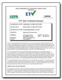 Etv Joint Verification Statement by Kovacs, Gabor J.