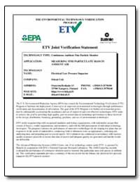 Etv Joint Verification Statement by Foley, Gary J.
