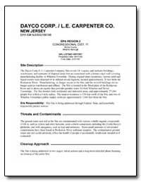 Dayco Corp. /L. E. Carpenter Co. by Environmental Protection Agency