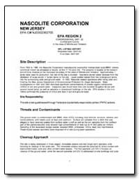 Nascolite Corporation by Environmental Protection Agency