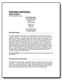 Higgins Disposal by Environmental Protection Agency
