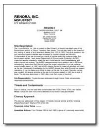 Renora, Inc. by Environmental Protection Agency