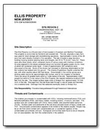 Ellis Property by Environmental Protection Agency