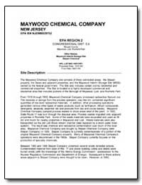 Maywood Chemical Company by Environmental Protection Agency
