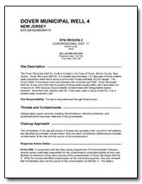 Dover Municipal Well 4 by Environmental Protection Agency