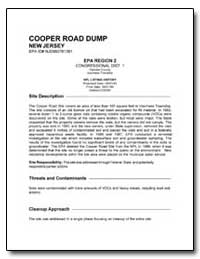 Cooper Road Dump by Environmental Protection Agency