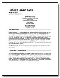 Hooker-Hyde Park by Environmental Protection Agency