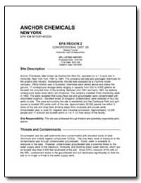 Anchor Chemicals by Environmental Protection Agency