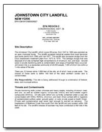Johnstown City Landfill by Environmental Protection Agency