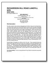 Richardson Hill Road Landfill Site by Environmental Protection Agency