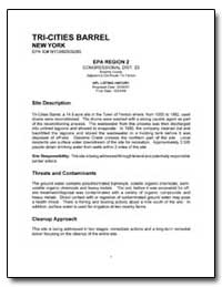Tri-Cities Barrel by Environmental Protection Agency