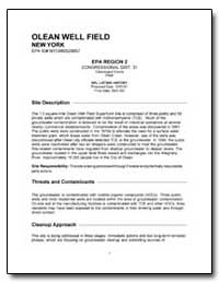 Olean Well Field by Environmental Protection Agency
