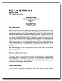 Fulton Terminals by Environmental Protection Agency