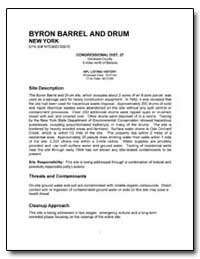 Byron Barrel and Drum by Environmental Protection Agency