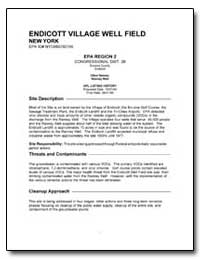 Endicott Village Well Field by Environmental Protection Agency