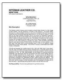 Hiteman Leather Co. by Environmental Protection Agency